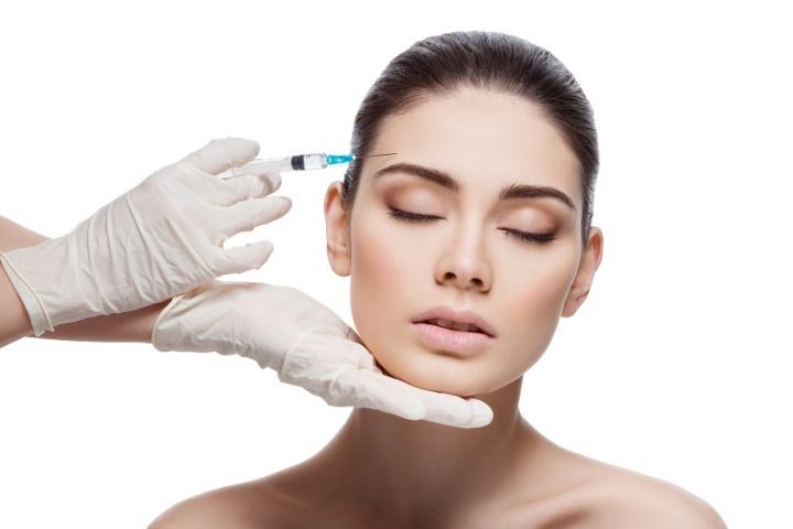 Ergebnisse einer Botox Behandlung