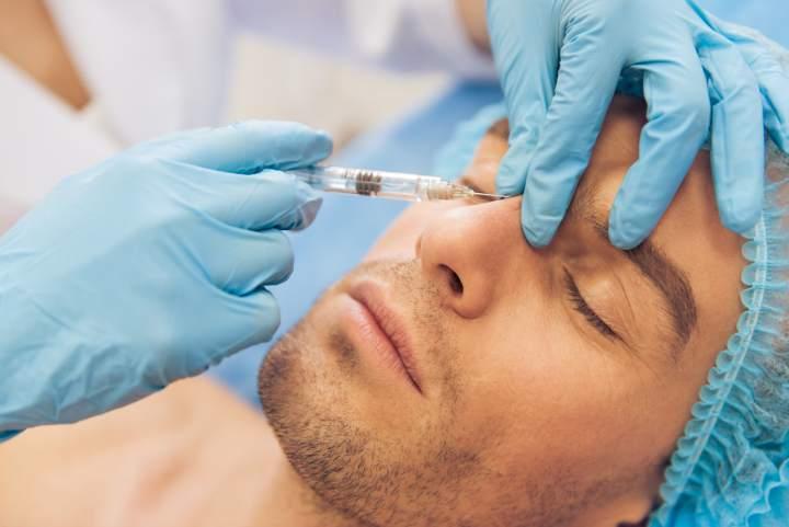 Faltenbehandlung mit Botox - Dr. Boorboor