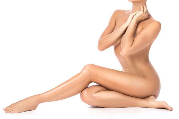 Entfernung von Fettdepots an der Brust durch Liposuktion